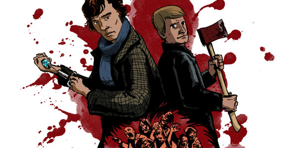 Sherlock / Zombies by Jason Welborn