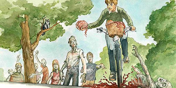 Jessica Fletcher vs the Zombies by Adam Carlson