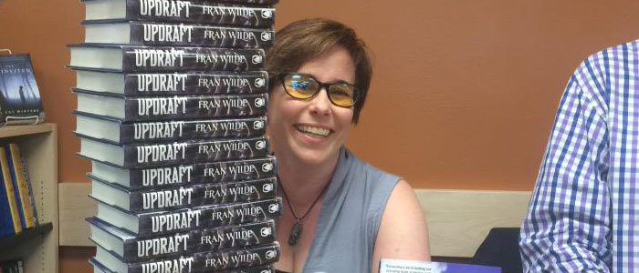 One-on-One with Fran Wilde Liz Carlie interviews Fran Wilde about UPDRAFT and more of the series to come