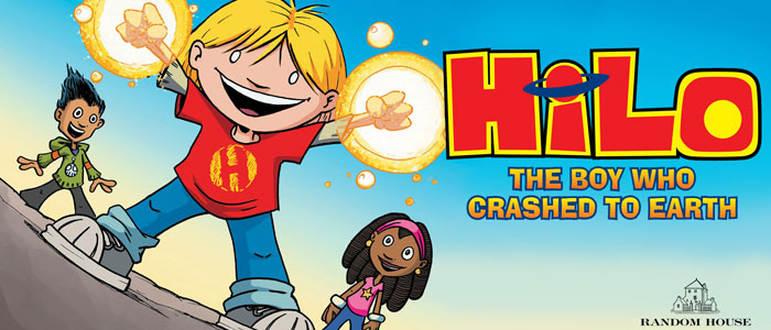 "Review: ""Hilo: The Boy Who Crashed to Earth"" by Judd Winick Or, the elevation of friendship"
