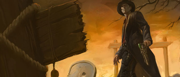 "Review: ""Deadlands: Ghostwalkers"" by Jonathan Maberry The first novel for the Deadlands series, this genre mashup makes for a good Halloween read"