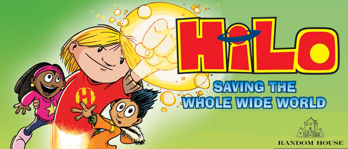 "<span class=""entry-title-primary"">Review: ""Hilo: Saving the Whole Wide World"" by Judd Winick</span> <span class=""entry-subtitle"">Or, the kids who fought the weirdos from another dimension</span>"