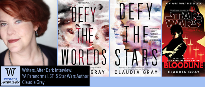 "Writers, After Dark #6: Claudia Gray Delving into YA space opera heroes, Star Wars and ""Aliens"" criticism"