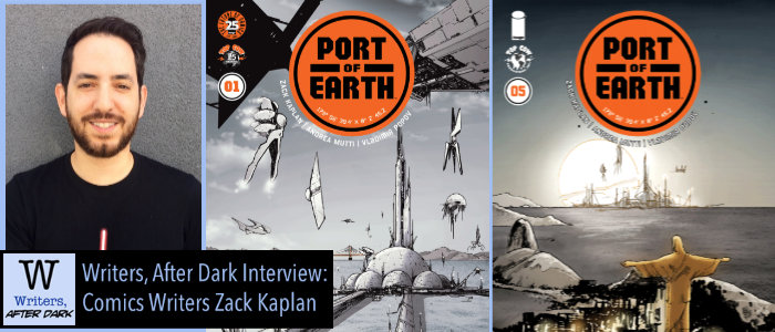 Writers, After Dark #7: Zack Kaplan Of extraterrestrial corporate shenanigans, peace keeping missions and more