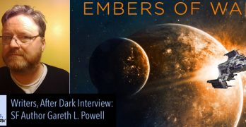 Writers, After Dark: Gareth L. Powell