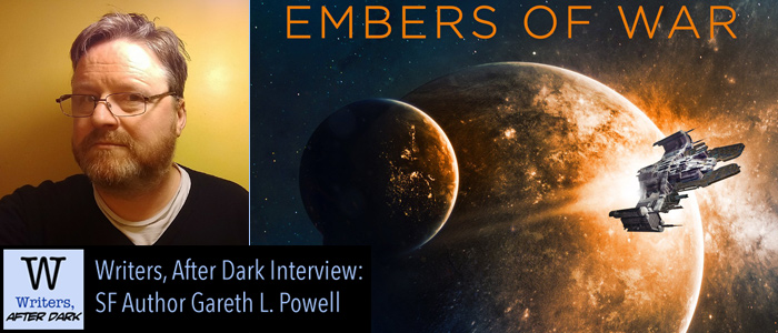 Writers, After Dark #8: Gareth L. Powell Of starships, music and writing advice