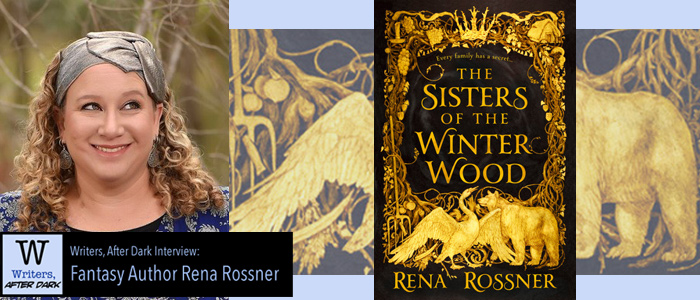 Writers, After Dark #16: Rena Rossner Talking of folklore from atypical historical sources