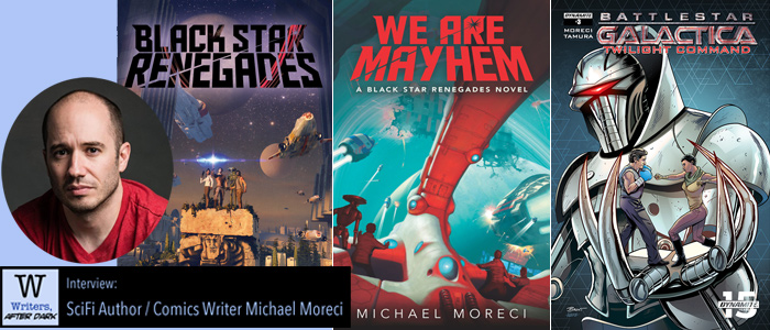 Writers, After Dark 25: Michael Moreci