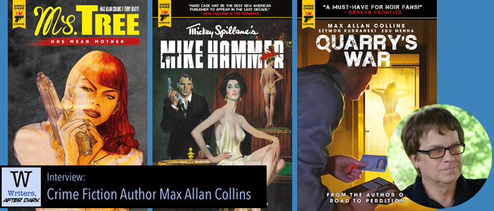 One-on-One with Max Allan Collins The hard-boiled crime fiction writer sets his talents on graphic novels