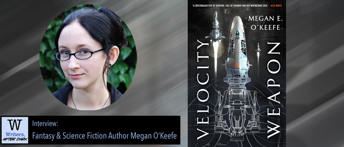 Writers, After Dark #29: Megan O'Keefe On writing space opera, and unreliable narrators
