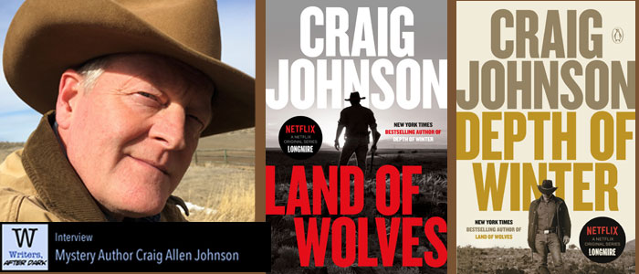 Writers, After Dark #35: Craig Johnson Slowing down investigations by focusing away from technology