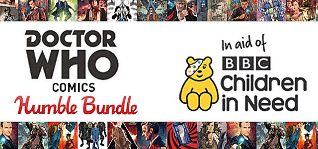 """""""Doctor Who"""" Humble Bundle for BBC Children in Need"""