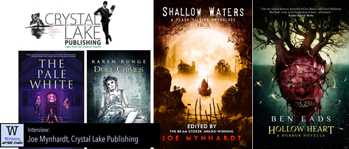 Writers, After Dark #42: Joe Mynhardt The still, small voice of horror tests the anthology waters