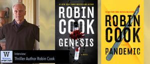 Writers, After Dark 43: Robin Cook