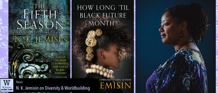 N. K. Jemisin on Diversity and Worldbuilding