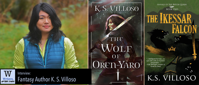 Writers, After Dark #52: K. S. Villoso Hail the Bitch Queen, defender of her people -- and all her poor life choices