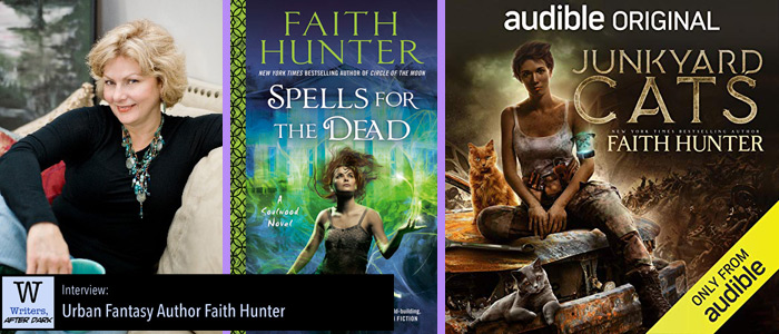 Writers, After Dark #64: Faith Hunter Following stories where the characters may lead them