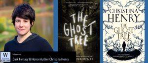 Writers, After Dark 69: Christina Henry