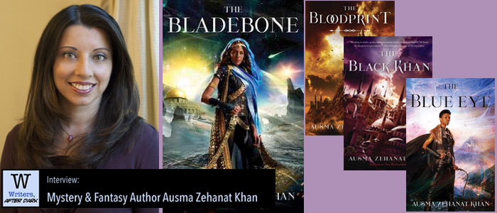 Writers, After Dark #71: Ausma Zehanat Khan Exploring fantasy and world-building through a wider, more inclusive lens
