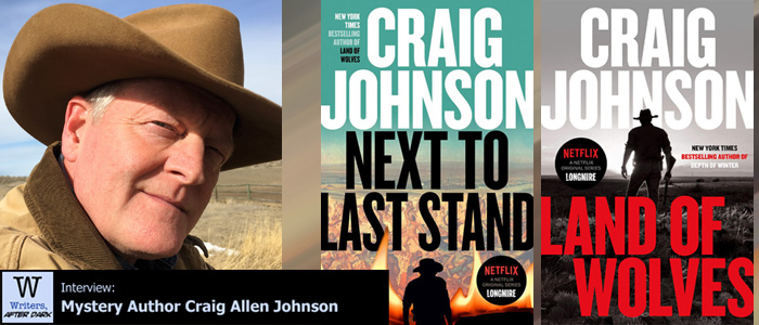 Writers, After Dark #77: Craig Johnson Mixing a historical mystery into a Walt Longmire investigation