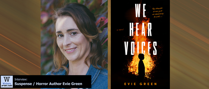Writers, After Dark #78: Evie Green Turning a medical mystery into a horror story