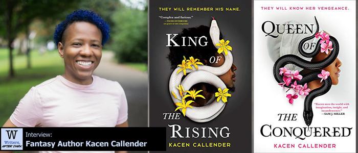 Writers, After Dark 82: Kacen Callender