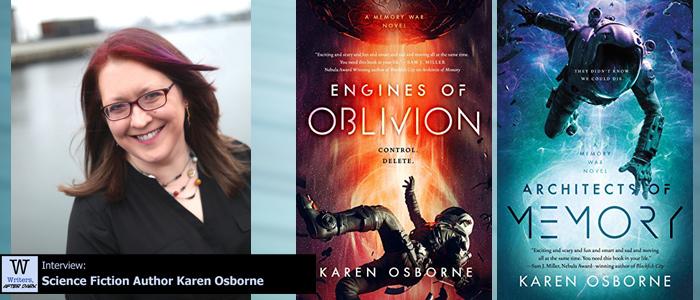 Writers, After Dark #83: Karen Osborne Tackling one look at indentured servitude, space exploration and colonization