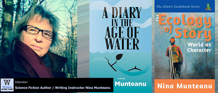 Writers, After Dark #84: Nina Munteanu On ecological scifi becoming a deep well to explore