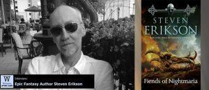 Writers, After Dark 92: Steven Erikson