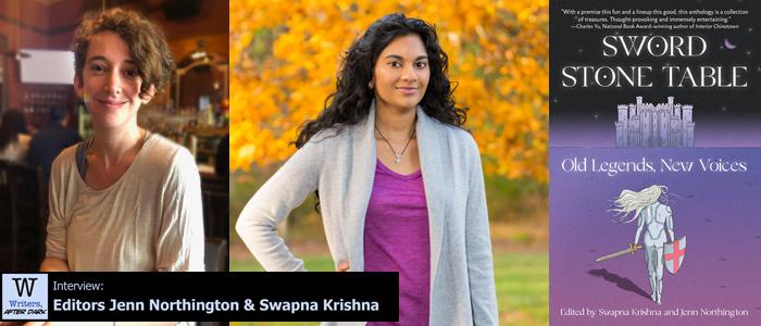 Writers After Dark 97: Jenn Northington & Swapna Krishna